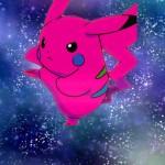 Pikachu Rose par Amélie
